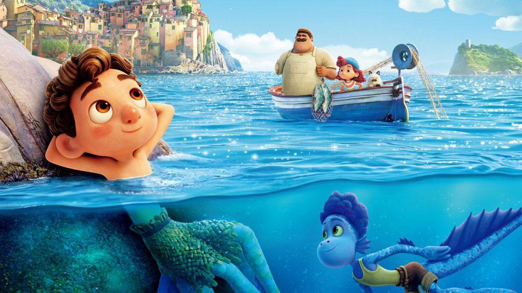 Luca-e-Alberto-Pixar-1024x576 Faltando Apenas 1 mês para o Lançamento, Luca Ganha Novo Teaser