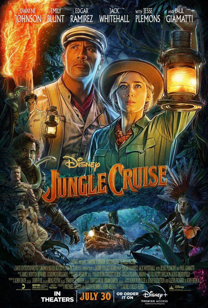 Poster-Jungle-Cruise-692x1024 Jungle Cruise, com Dwayne Johnson e Emily Blunt, ganha novo trailer