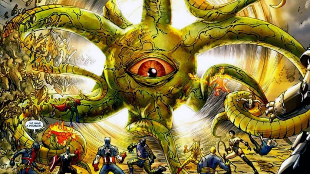 Shuma-Gorath-Doutor-Estranho-2-1024x576 Shuma-Gorath Pode ser o Grande Vilão de Doutor Estranho 2