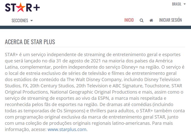 image-18 STAR+ | Novo Streaming da Disney Tem Lançamento Adiado, Veja os Detalhes