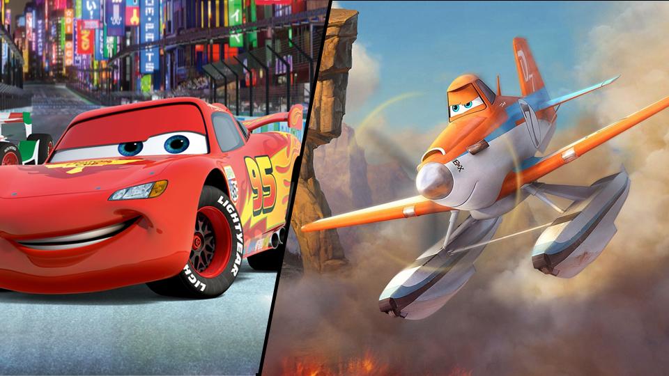 Carros-e-Avioes-Pixar Carros: personagens de Aviões vão aparecer na nova série da franquia