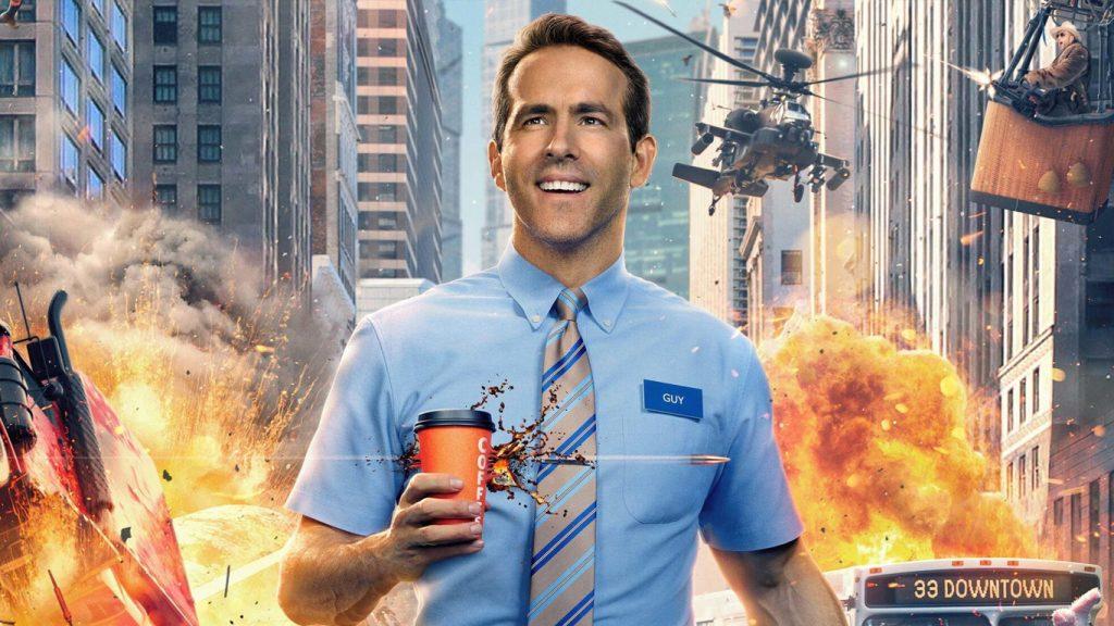 Free-Guy-Assumindo-o-Controle-1024x576 Free Guy ganha trailer final da Disney antes da estreia nos Cinemas