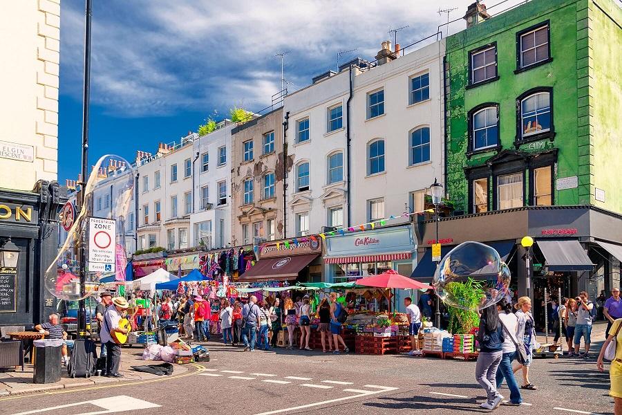 PortoBello-Road-Notting-Hill-Cruella Cruella: veja as locações em Londres do filme da clássica vilã da Disney