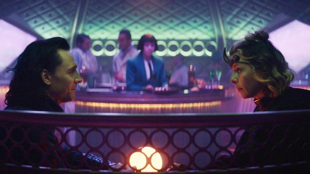 Sylvie-e-Loki-conversando-1024x576 Romance de Loki e Sylvie não é o responsável pelo novo evento Nexus