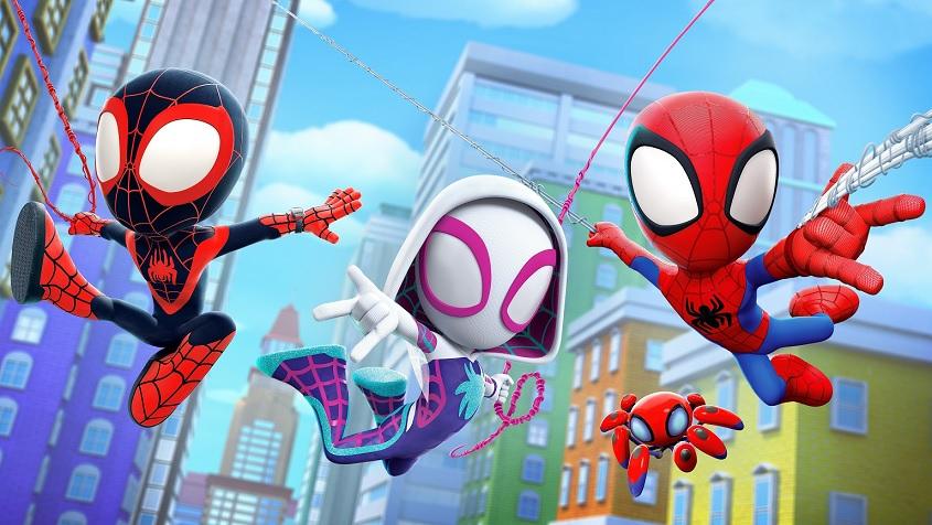 Spidey-e-Seus-Amigos-Espetaculares Confira a lista com as estreias desta quarta-feira no Disney+ (21/07)