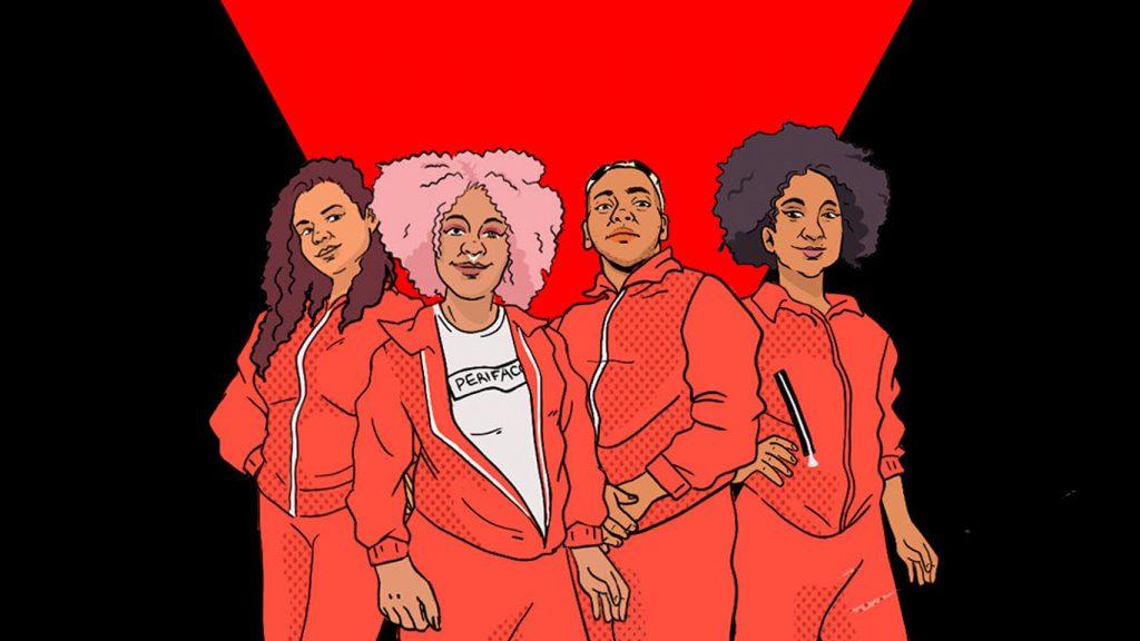 Viuva-Negra-Perifacon-1024x576 19 ilustradoras brasileiras criam incríveis artes inspiradas em Viúva Negra, confira
