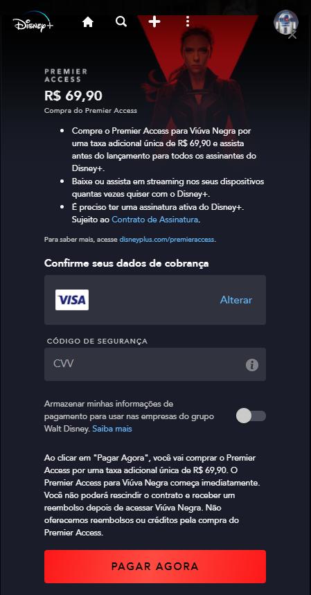 image-23 Viúva Negra: Como comprar pelo Premier Access do Disney+?