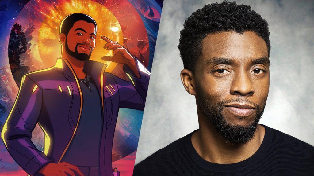 Chadwick-Boseman-What-If-Senhor-das-Estrelas-1024x576 Chadwick Boseman fará sua despedida da Marvel esta semana, em What If...?