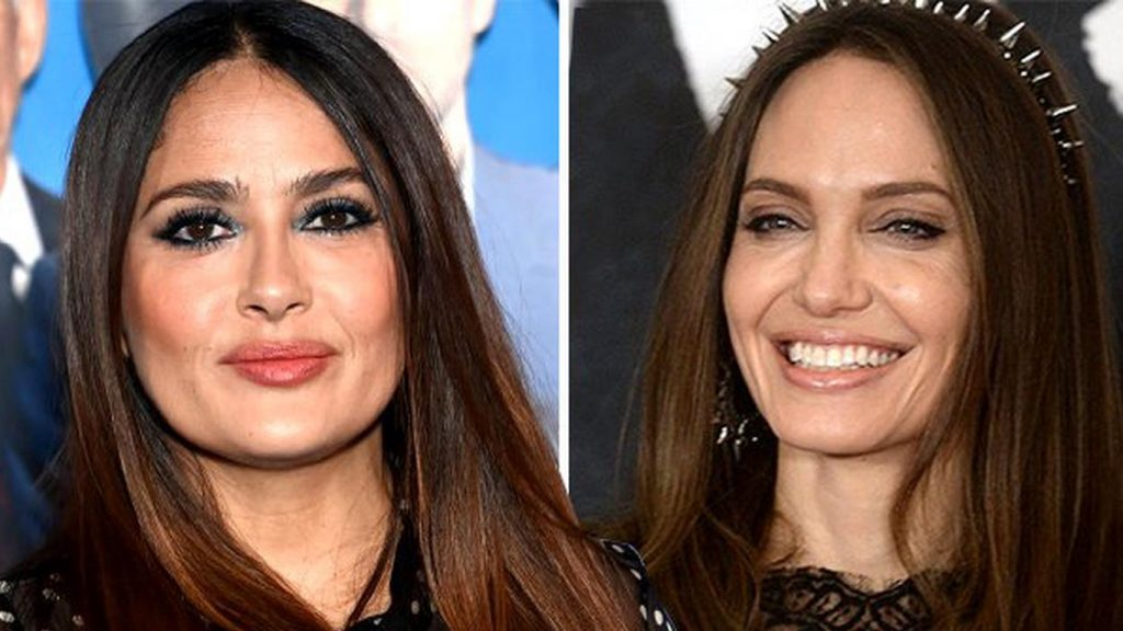 Angelina-Jolie-e-Selma-Hayek-Eternos-1024x576 Eternos: Kumail Nanjiani conta como Angelina Jolie e Salma Hayek agiam no set