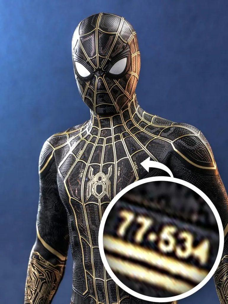 Boneco-Homem-Aranha-770x1024 Homem-Aranha 3: Números em novos bonecos trazem referência importante
