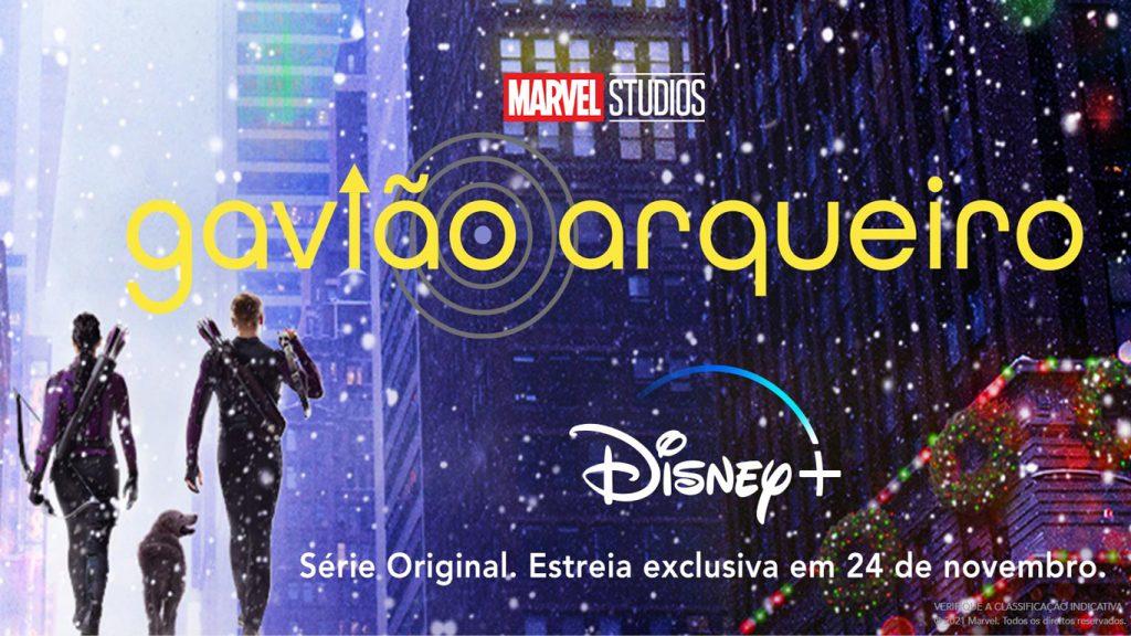 Gaviao-Arqueiro-Serie-Disney-Plus-1024x576 Saiu o trailer de Gavião Arqueiro, próxima série da Marvel no Disney+