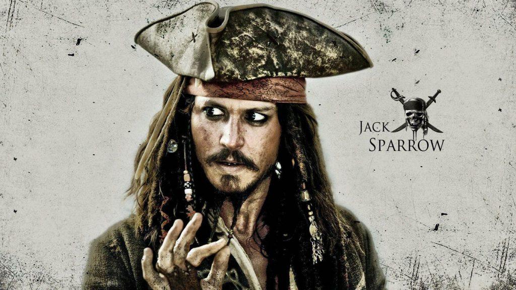 Jack-Sparrow-Johnny-Depp-1024x576 Como a ausência de Jack Sparrow será tratada em Piratas do Caribe 6?