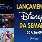 Confira os lançamentos da semana no Disney+, incluindo Star Wars Visions
