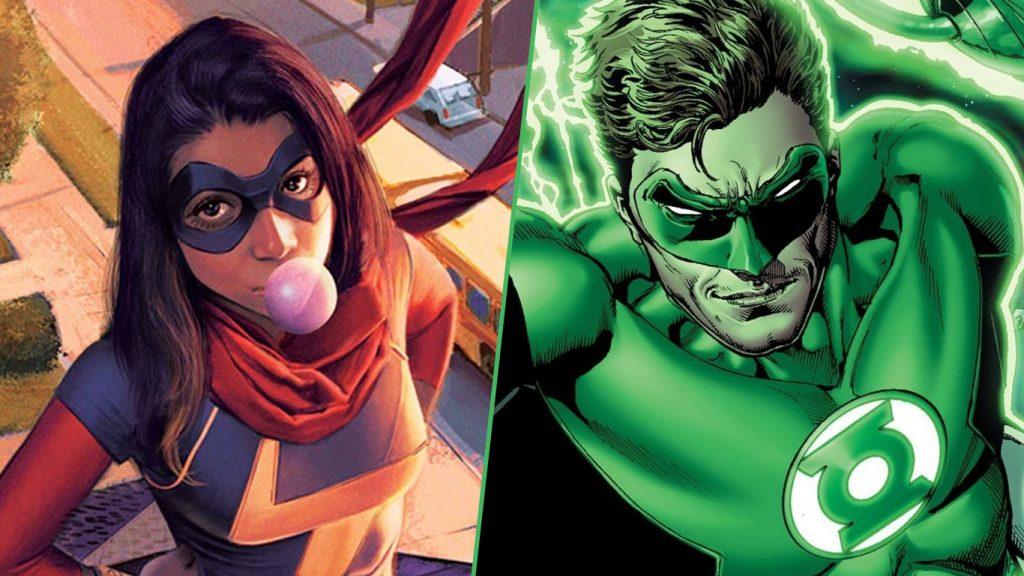 Ms.-Marvel-Lanterna-Verde-1024x576 Marvel pode lançar sua própria versão do Lanterna Verde em Ms. Marvel