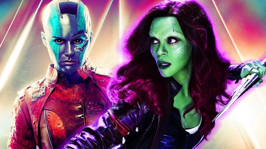 Nebulosa-e-Gamora-1024x576 Guardiões da Galáxia Vol. 3 será sobre Gamora e Nebulosa, revela Seth Green