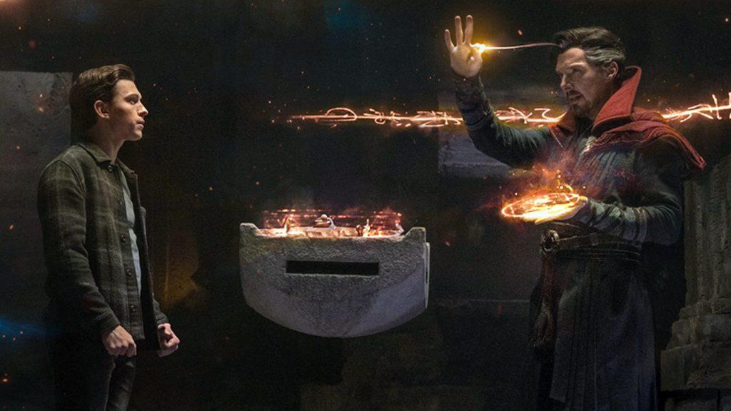 Peter-Parker-e-Doutor-Estranho-1024x576 Benedict Cumberbatch tem certeza que Homem-Aranha 3 vai dividir os fãs