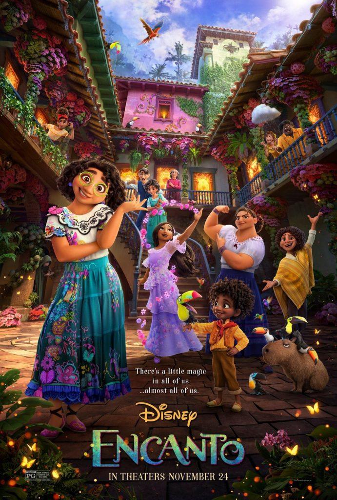 Poster-Encanto-29-09-ingles-691x1024 Saiu o novo trailer de 'Encanto', próximo lançamento da Disney dos cinemas