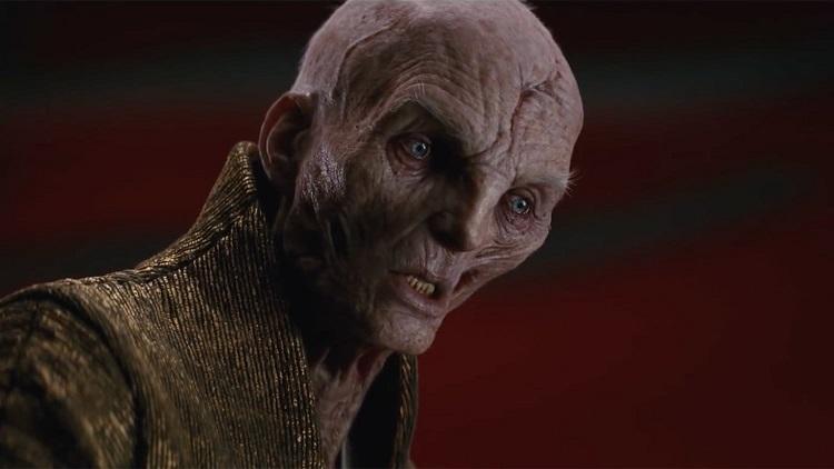 Snoke-Star-Wars Star Wars: Diretor de Venom 2 ficou decepcionado com morte de seu personagem em 'Os Últimos Jedi'