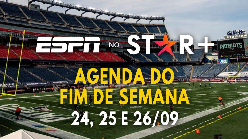StarPlus-ESPN-Agenda-Esportiva-Fim-de-Semana-24-a-26-09-1024x576 ESPN no Star+   Lista completa dos eventos esportivos ao vivo do fim de semana (24 a 26/09)