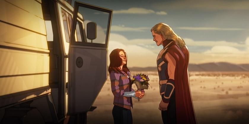 Thor-e-Jane-What-If Marvel confirma a existência de Unicórnios no MCU