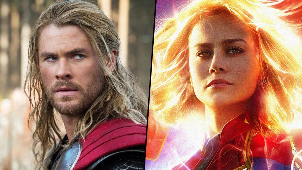Thor-vs-Capita-Marvel-1024x576 Marvel finalmente respondeu a pergunta - Quem venceria: Thor ou Capitã Marvel?