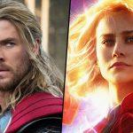 Marvel finalmente respondeu a pergunta - Quem venceria: Thor ou Capitã Marvel?