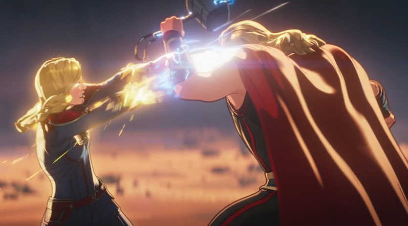 image-113 Marvel finalmente respondeu a pergunta - Quem venceria: Thor ou Capitã Marvel?