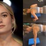 Em novo vídeo, Brie Larson mostra que está tão forte quanto Carol Danvers