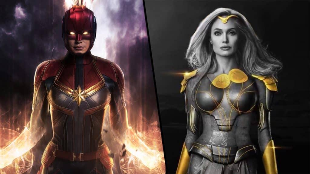 Capita-Marvel-vs-Thena-1024x576 Quem venceria luta entre Thena e Capitã Marvel? Produtor de Eternos comenta
