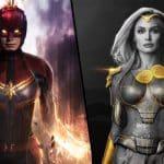 Quem venceria luta entre Thena e Capitã Marvel? Produtor de Eternos comenta