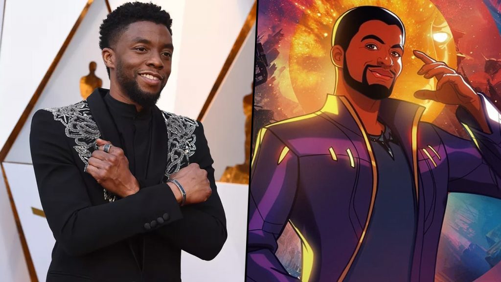 Chadwick-Boseman-Senhor-das-Estrelas-1024x576 Marvel queria Chadwick Boseman em spin-off de T'Challa como Senhor das Estrelas
