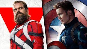 Guardião Vermelho e Capitão América