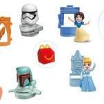 Novos brinquedos do McDonald's trazem Princesas da Disney e Personagens de Star Wars