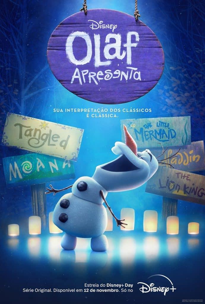 Olaf-Apresenta-Poster-Disney-Plus-691x1024 Olaf Apresenta: Disney libera primeiro trailer da série do Olaf