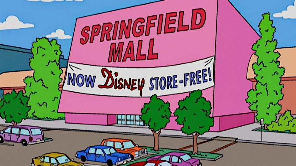 Os-Simpsons-Sem-Lojas-Disney Mais uma! Os Simpsons previram o fechamento das lojas da Disney