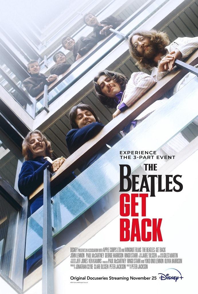 Poster-The-Beatles-Get-Back The Beatles: Get Back ganha trailer legendado antes da estreia no Disney+