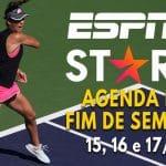 ESPN no Star+   Veja a lista com mais de 200 eventos ao vivo no fim de semana